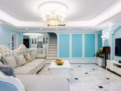 地中海欧式风:蓝白色搭配,让空间清新又浪漫!